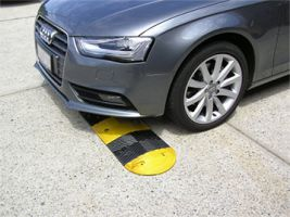 speed humps reduced