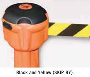 Skipper Retractable Tape Barrier