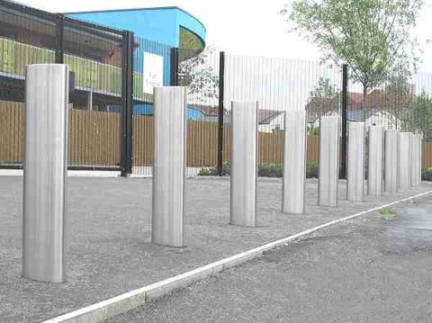 Steel Bollards reduced