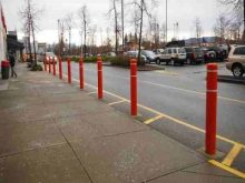 parking security bollards