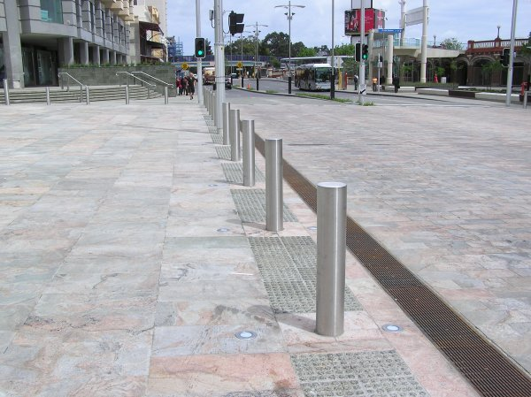 Stainless Steel Permanent In Ground Bollards