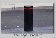 Automatic Heavy Duty Security Bollards