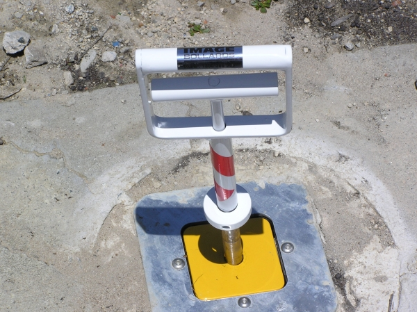 Okal Sentry Retractable Bollards