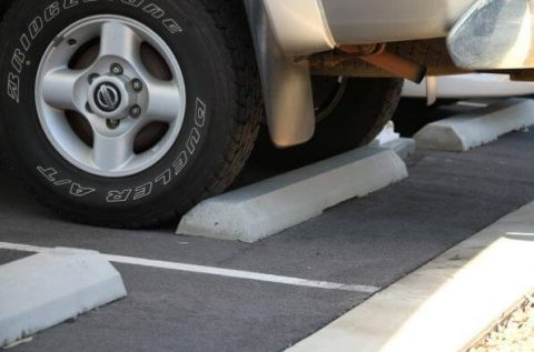 concrete wheel stops for your car park
