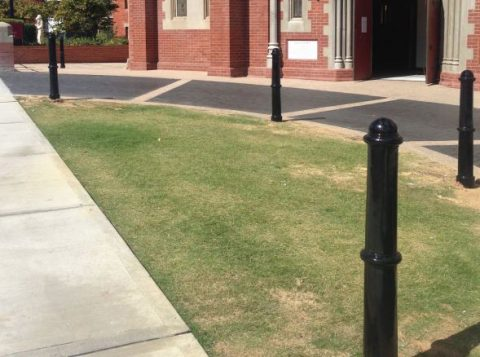sustainable cast iron bollards