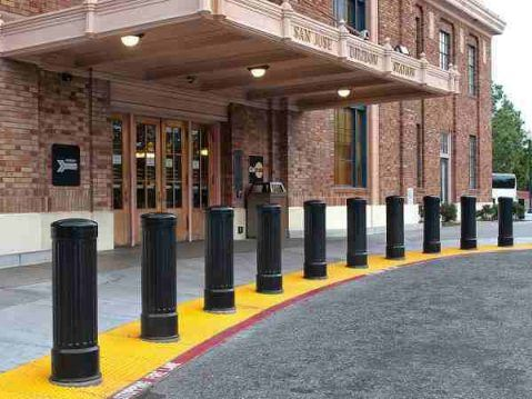 Effective Bollard Spacing for Maximum Security