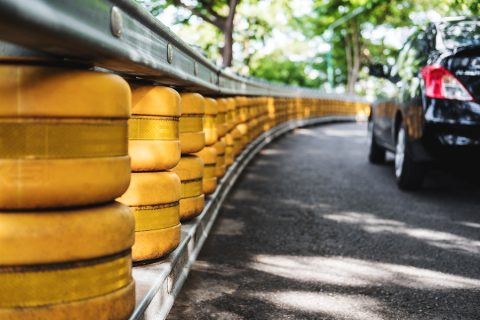 Road Railing Safety Barrier
