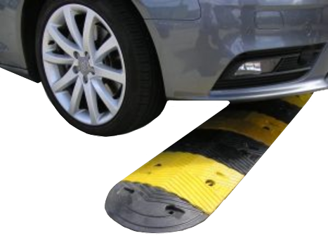 rubber speed hump 250mm