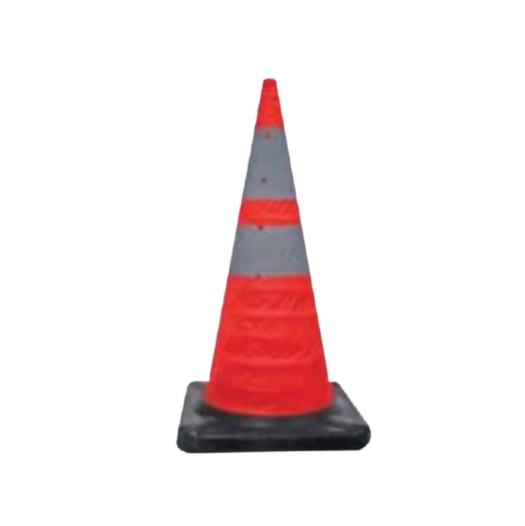 Collapsible Cones – Rubber Base