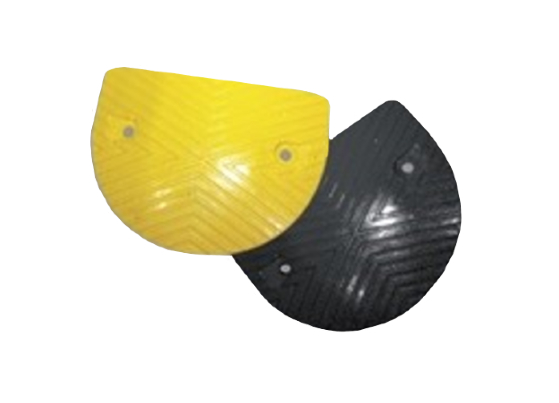 Rubber Speed Hump Ends