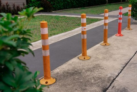 surface mounted bollards at home