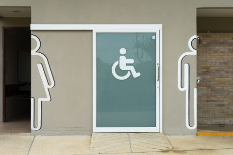 toilet for the disabled